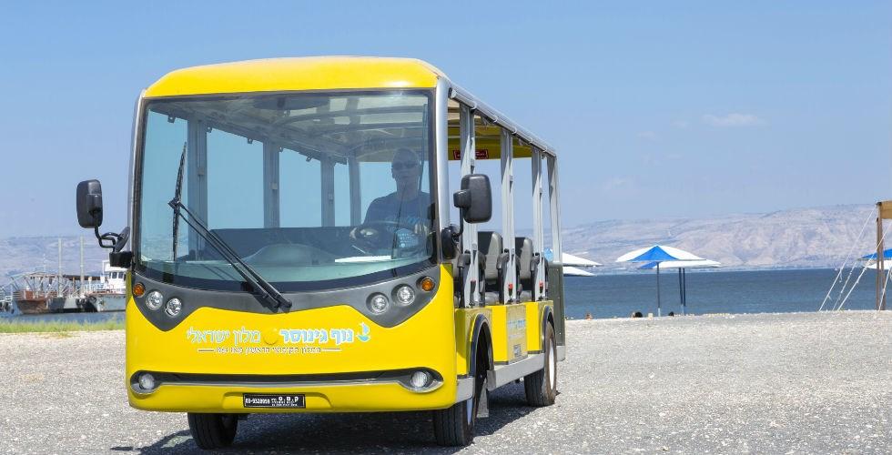 Nof Ginosar bus
