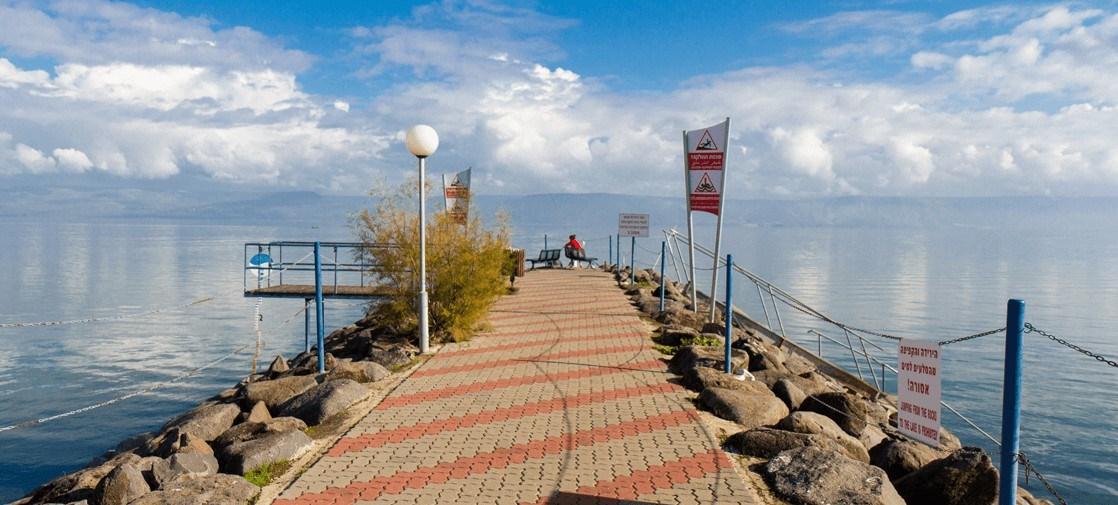 Nof Ginosar beach
