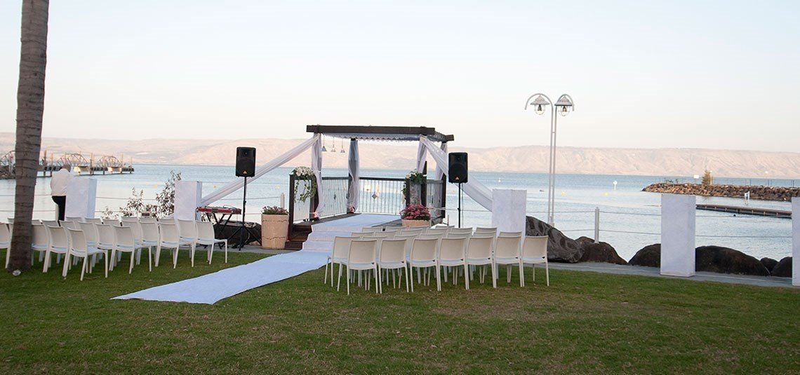 Ginosar Gardens Wedding